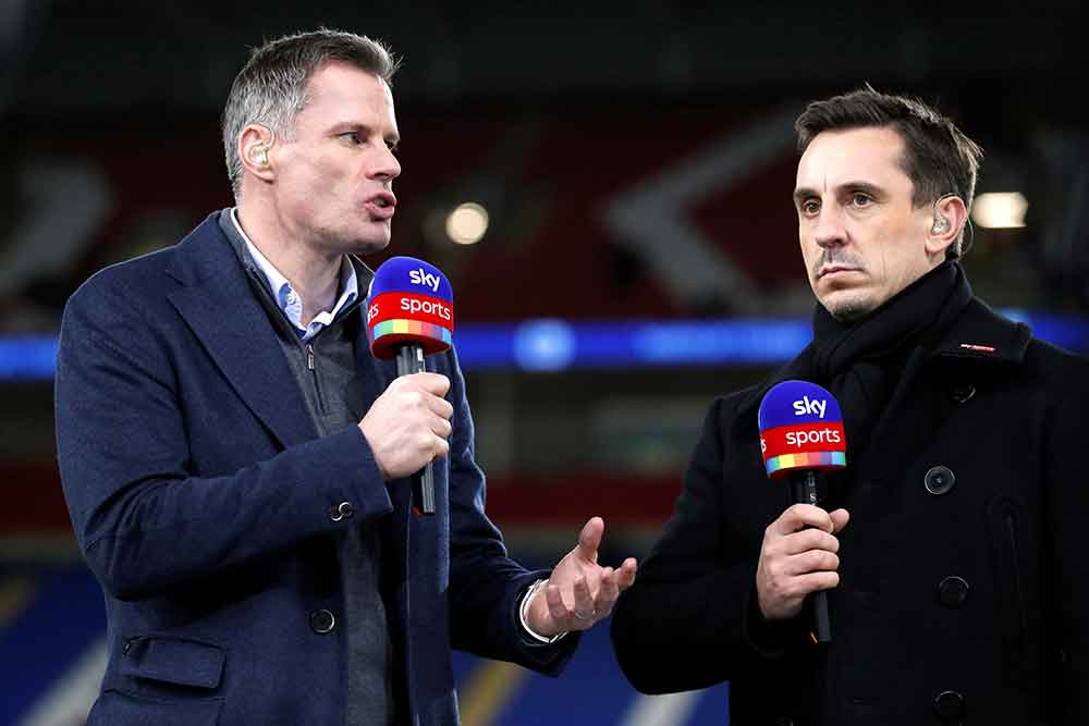 """Gary Neville Identifies City """"Issue"""" That Is Making Him Waver On His Premier League Title Prediction"""